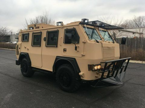 BAE RG12 MK2 APC Armored Truck General Dynamics Military Vehicle for sale