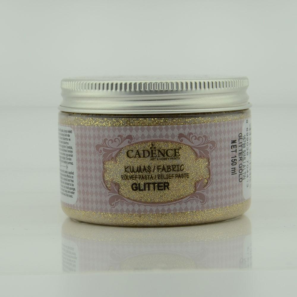 7ffef613475e9 Fabric Glitter Relief Paste - Gold