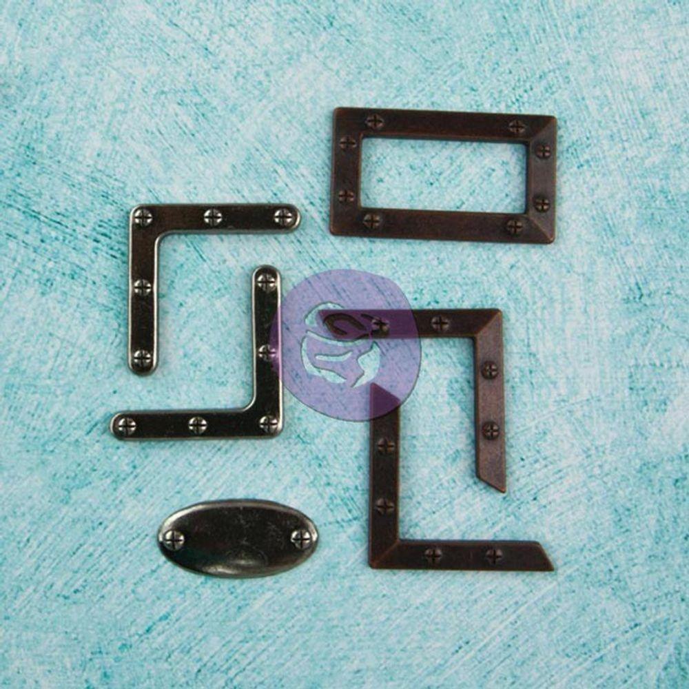 Home Articles 5-Pack Prima Marketing Junkyard Findings Metal Embellishments