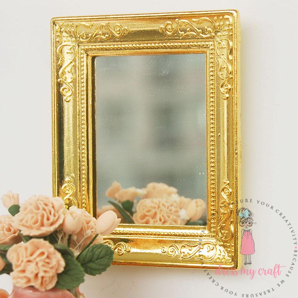 Miniature Golden Frame | Dmcma982 | Dress My Craft