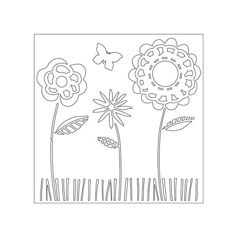 Summer Garden   Stencils