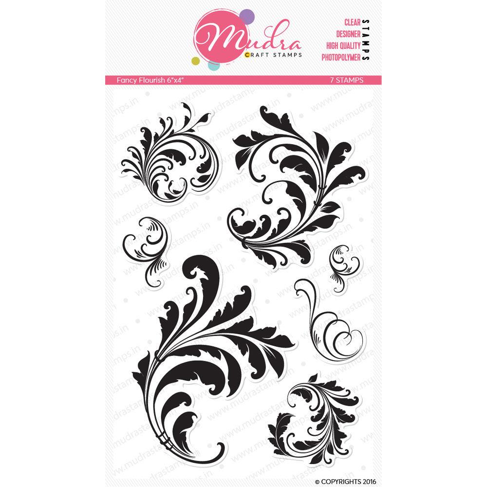 Image result for mudra craft stamp fancy flourish stamp