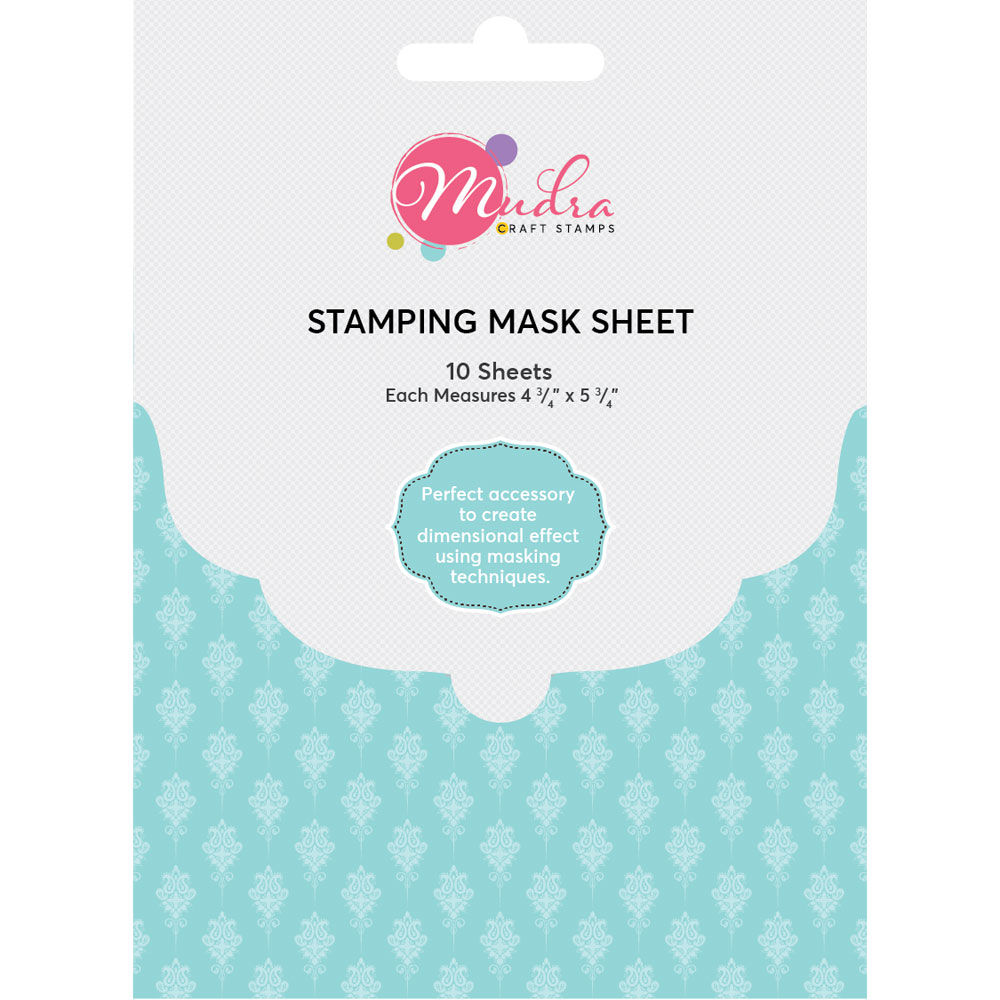 Image result for masking sheet mudra craft stamp