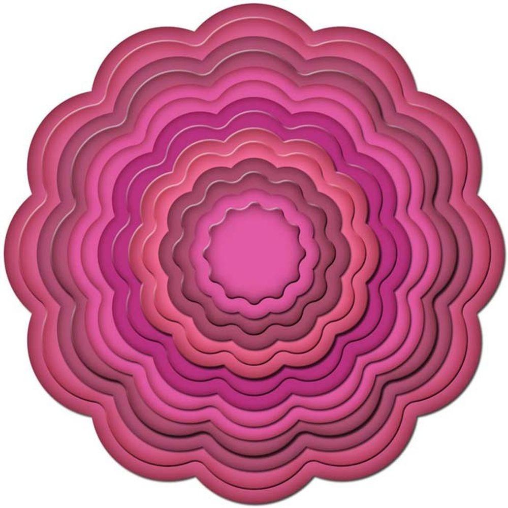 Big Scalloped Circles Large - Die | S4-249 | Spellbinders