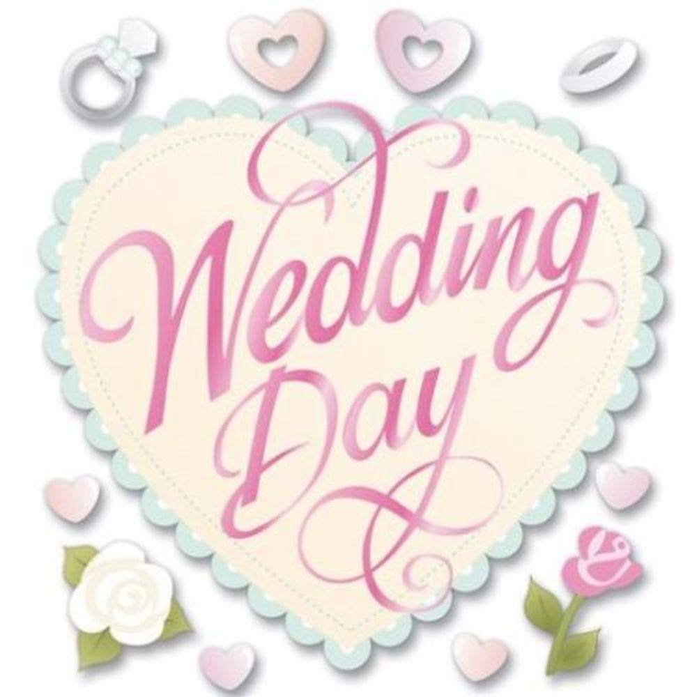 Wedding Day Stickers Spjb368 Jolees Boutique