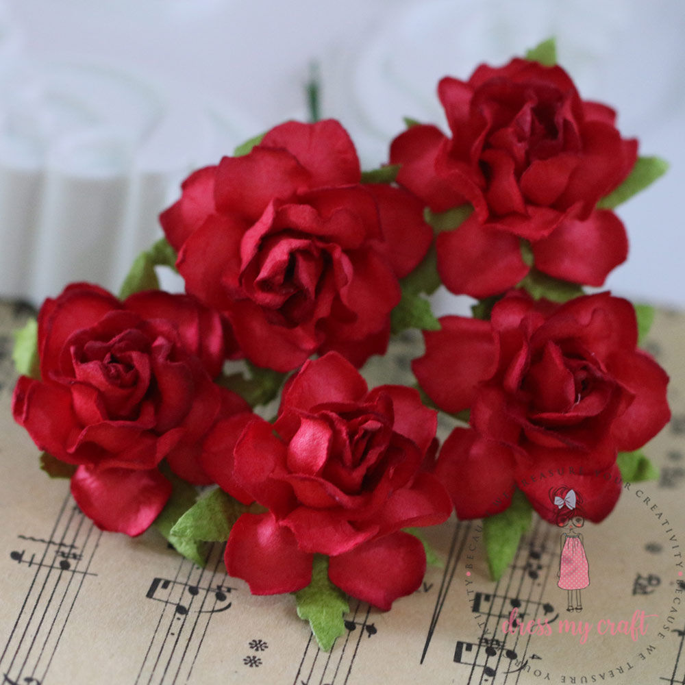 Twisted Roses - Pretty Red