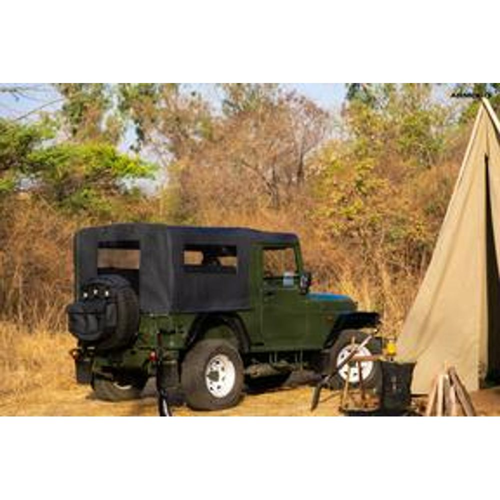 Canvas Soft Top For Mahindra Thar-Openable
