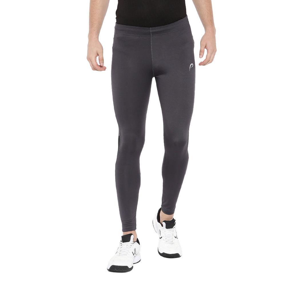 90ff9d0a8738a Proline Active Men Dark Grey Tights With Cut Sew Detail | Pa028de