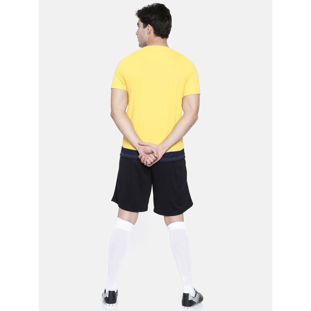 e897eb93 Proline Active Gold Yellow Raglan Short Sleeve V- Neck Comfort Fit Graphic  Tee Shirt