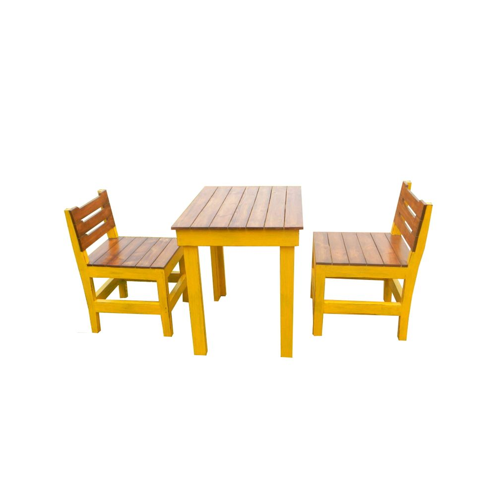 Two Seat Dining Set: Mellow- 2 Seater Dining Set