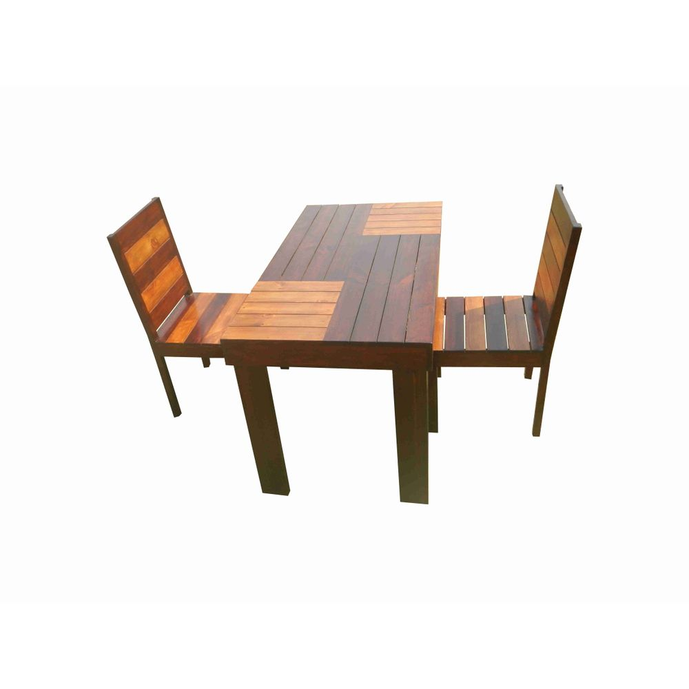 Two Seat Dining Set: Aura- 2 Seater Dining Set
