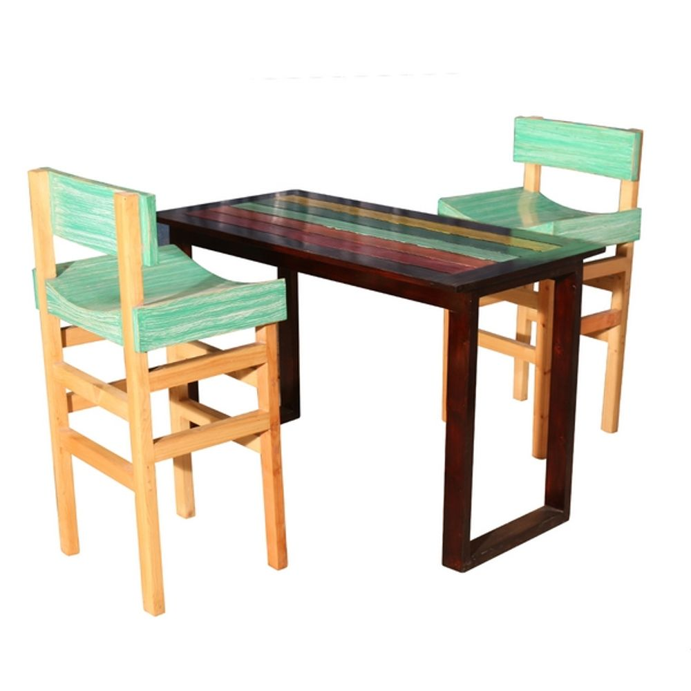 Two Seat Dining Set: Tvisha High Dining Set- 2 Seater
