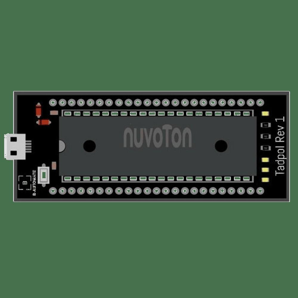 8051 Microcontroller Board Tadpol Rev1