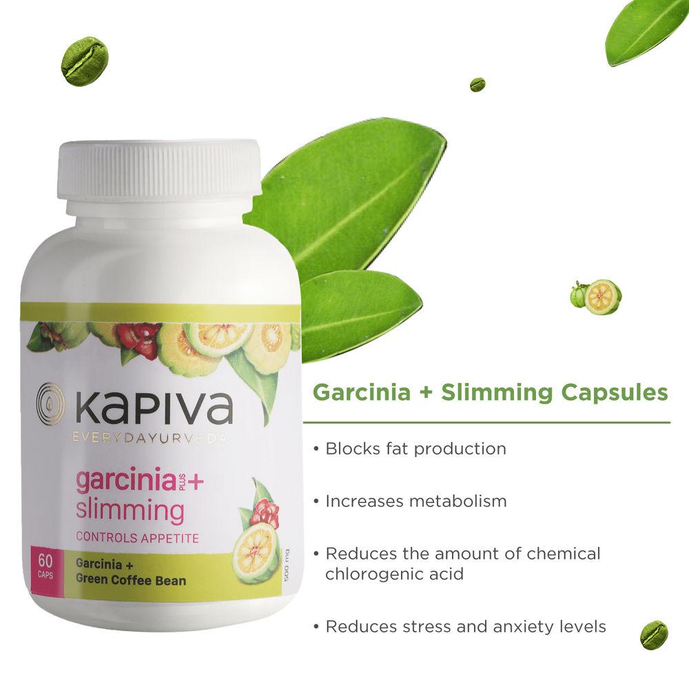 Kapiva Garcinia Slimming Capsules 1000 Green Coffee Bean