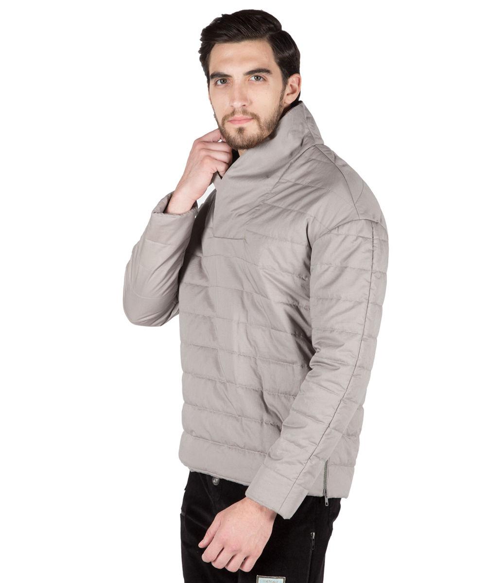 Grey Quilted Sweatshirt : quilted sweatshirt - Adamdwight.com