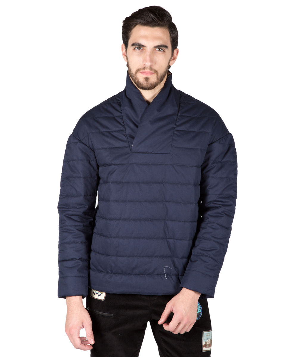 Navy Quilted Jacket : navy quilted jacket - Adamdwight.com