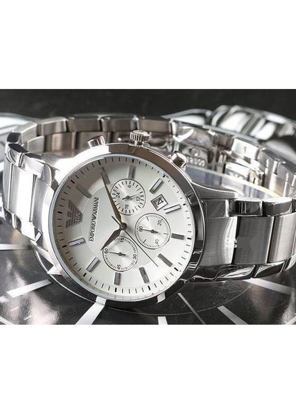 Home » Emporio Armani-AR2458 Chronograph Analog Watch For-Men · Zoom.  sold-out-image fe7601cf14