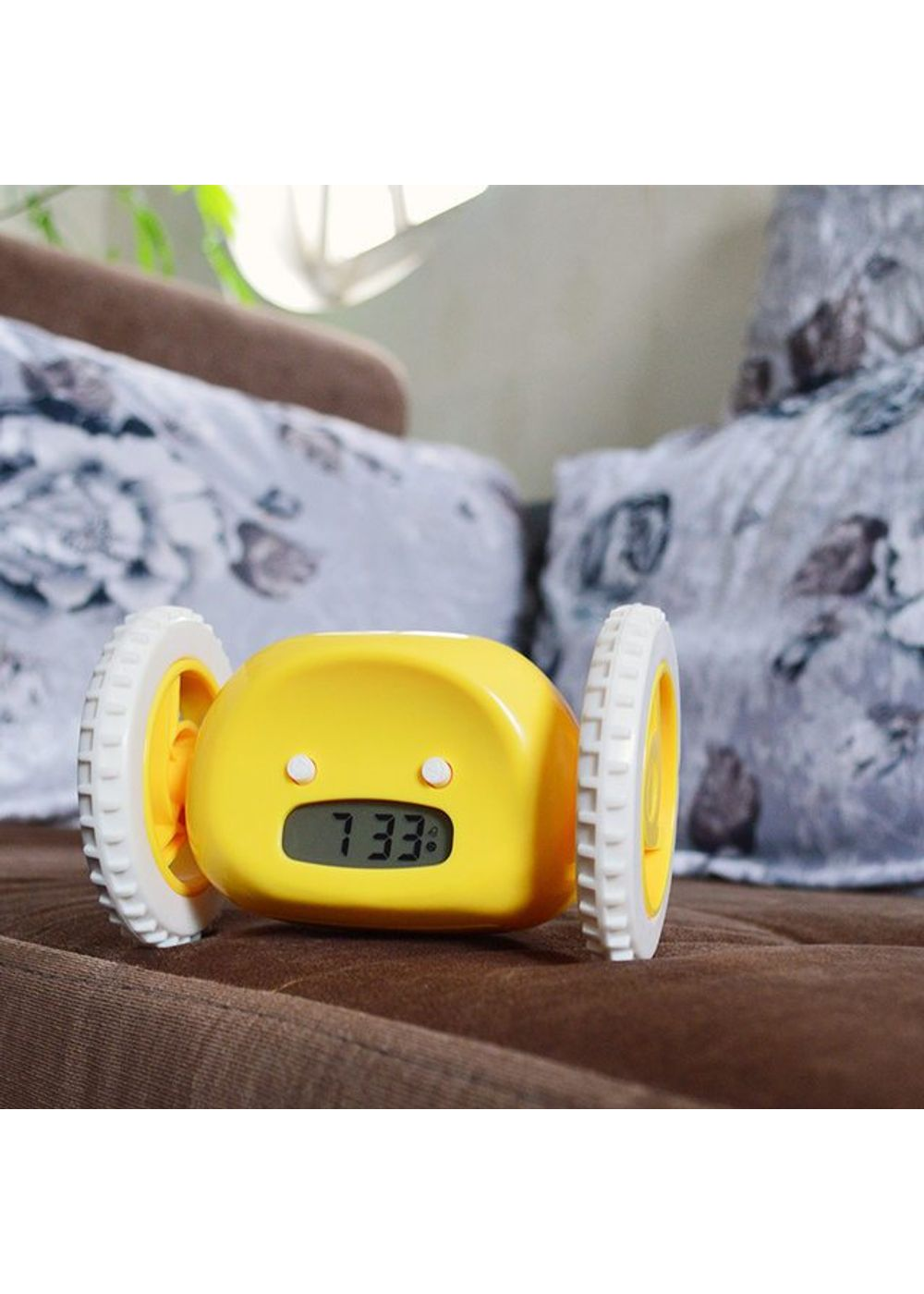 Image result for CLOCKY the Original Runaway Alarm Clock on Wheels