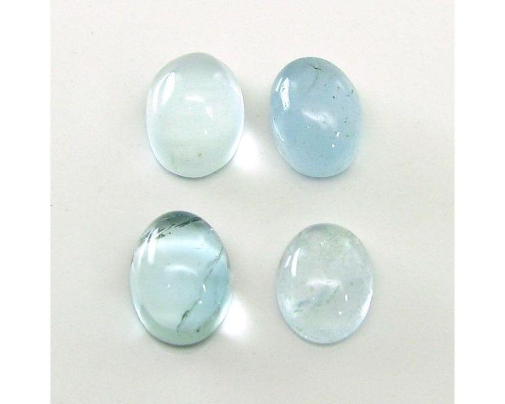 NATURAL AQUAMARINE CABOCHON  Aquamarine Gemstone