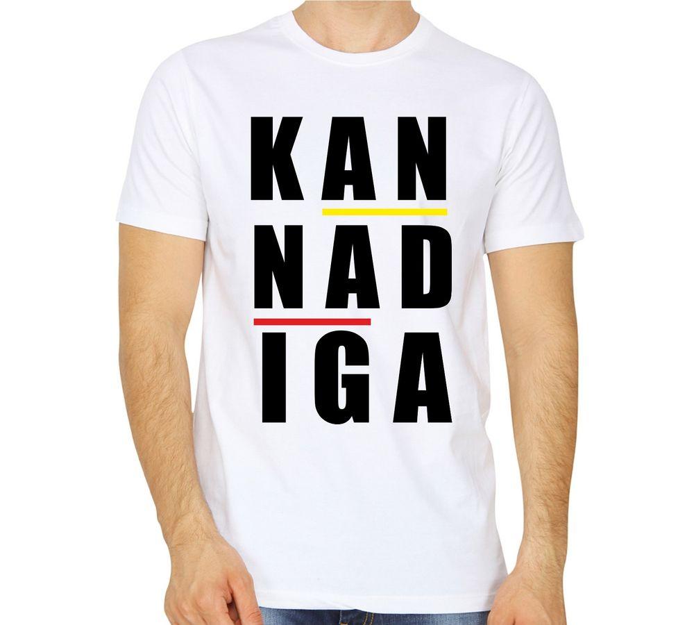 8ed19f185436 kannada tshirt kannadiga white colour. ‹ ›