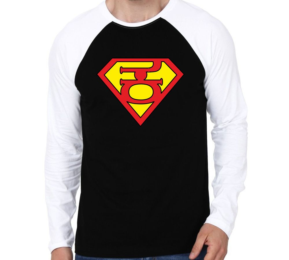 c3f30e55b1ce Super Kannadaiga Reglan colour full sleeve Kannada T-shirts