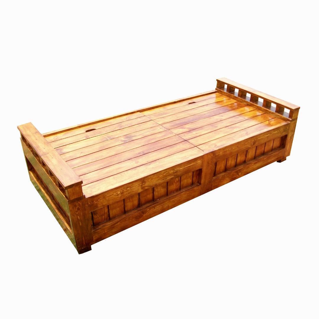 gorgeous wooden diwan with storage 14