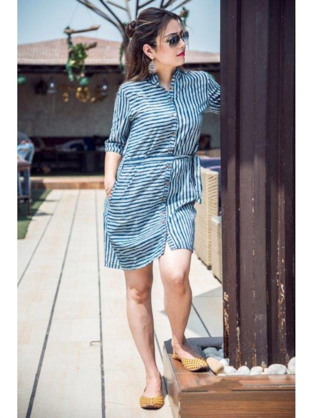 ad69b63e8fb Shirt Dress With Pockets