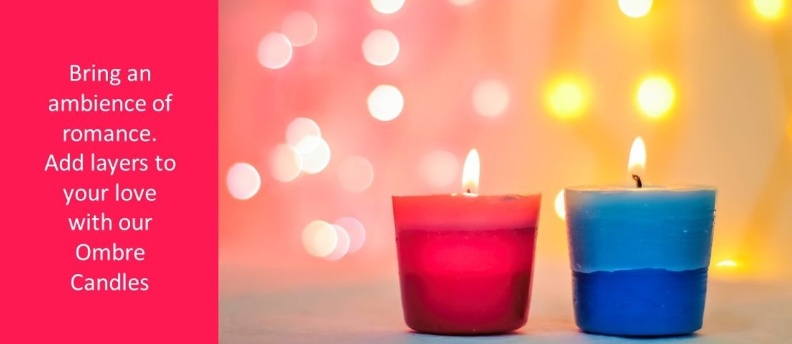 ombre candles
