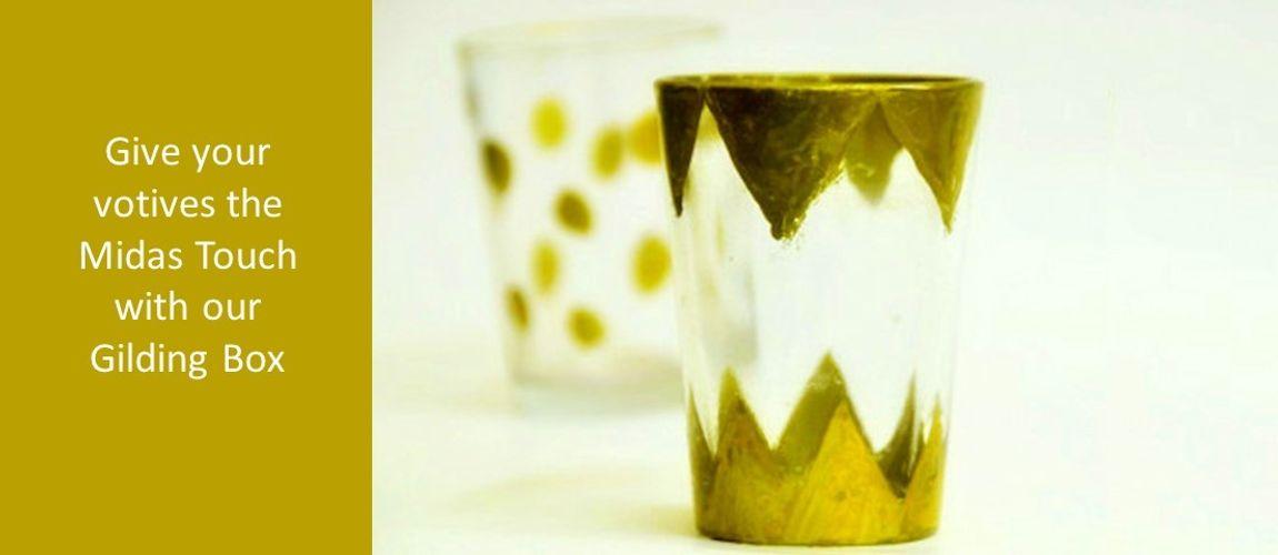 gilded votives