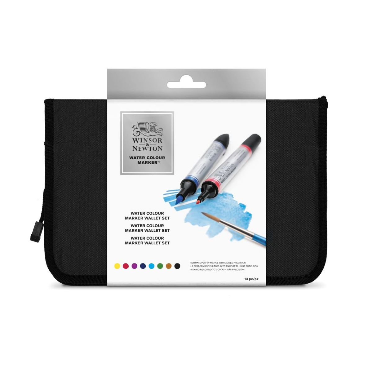 37b3a7229c80 sold-out-image Winsor   Newton WATER COLOUR MARKER - Twin Tip  Brush + fine  - Water based