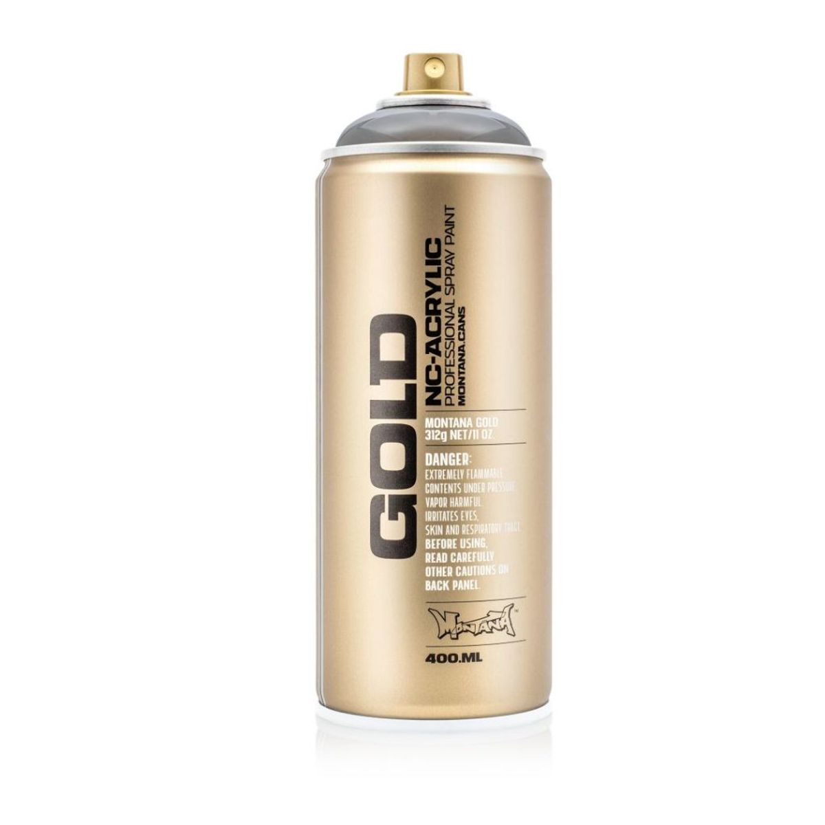 Montana Gold Spray Paint 400 Ml Transparent Black