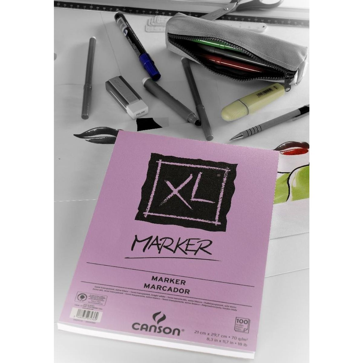 Xl Marker 70 Gsm A4 Pack Of 24 Extra Smooth Sheet