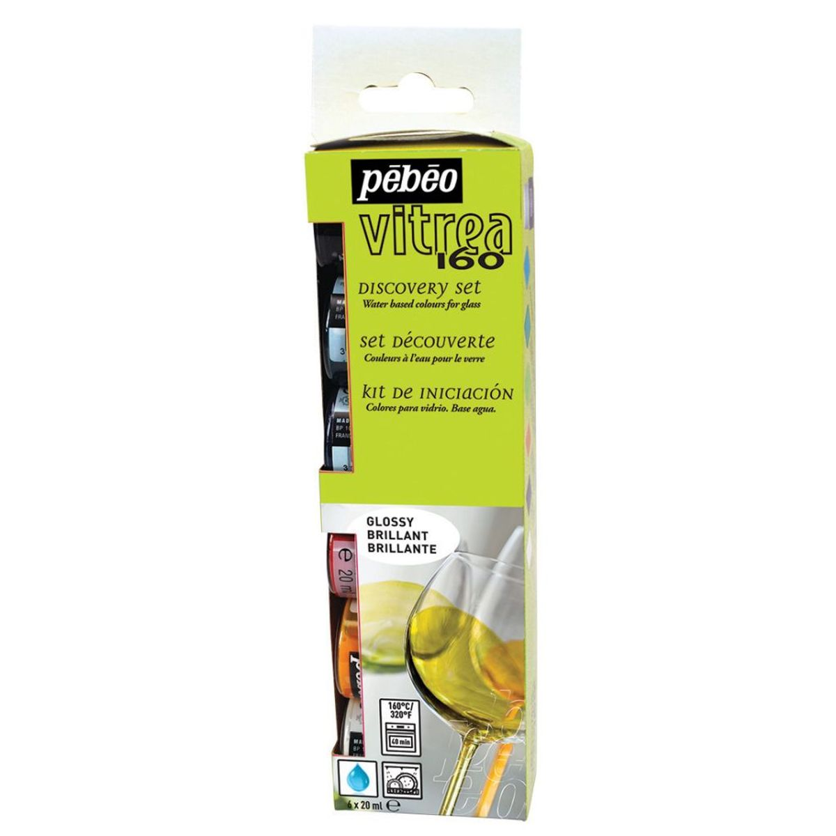 pebeo vitrea 160 glass paint instructions