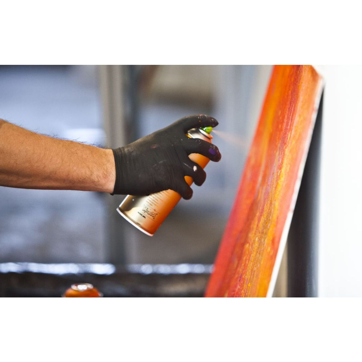 Montana Gold Spray Paint 400 Ml Shock White Pure
