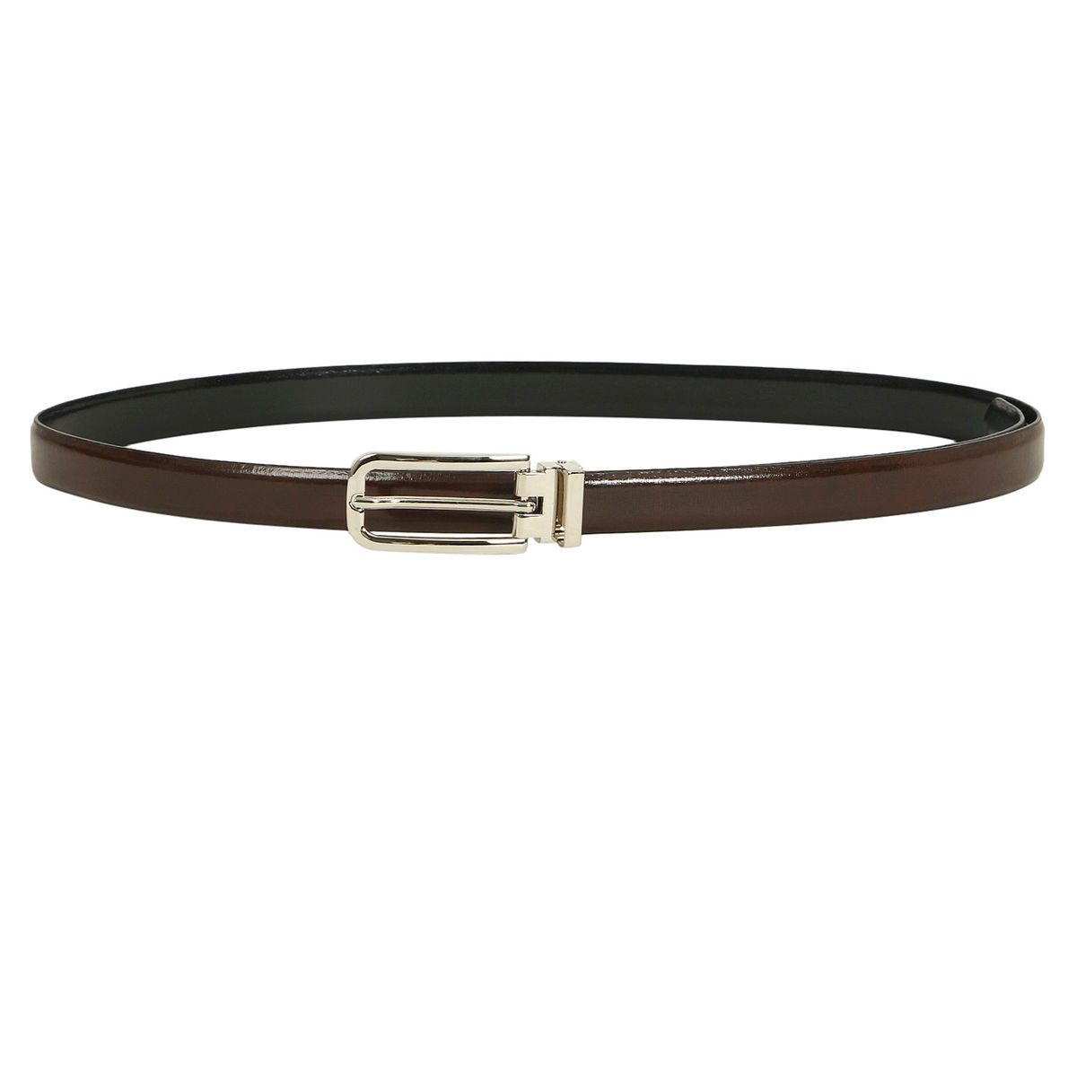 cc0a3b92681e8 Da Milano Brownblack Ladies Belt