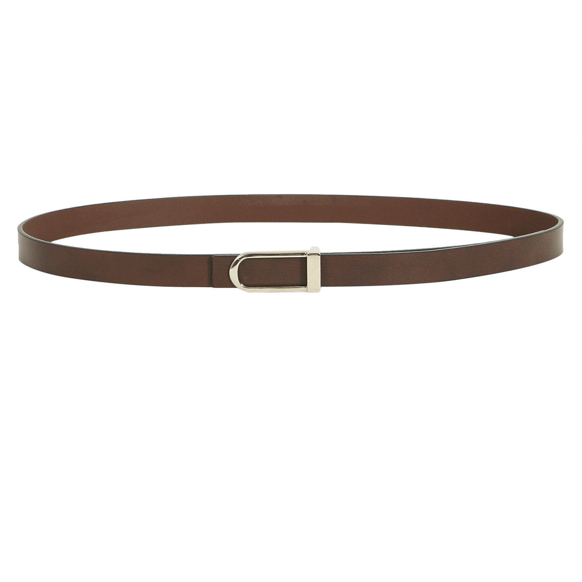 Ariat offers women's leather belts featuring full leather linings, signature buckles, and finishes for an elegant look.