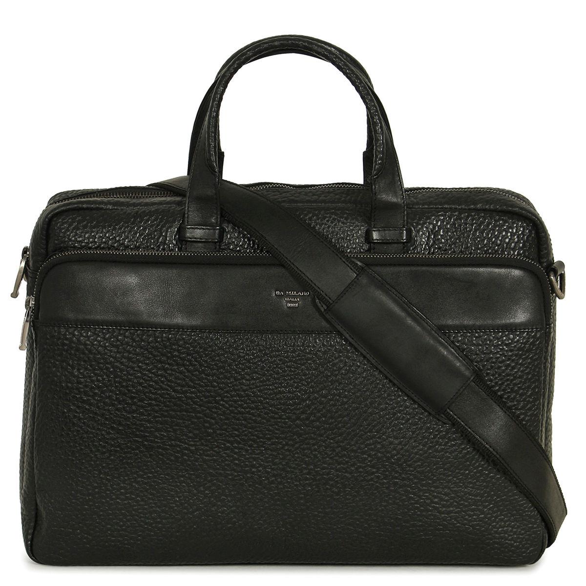 Zoom Da Milano Black Laptop Bag 1 2 3