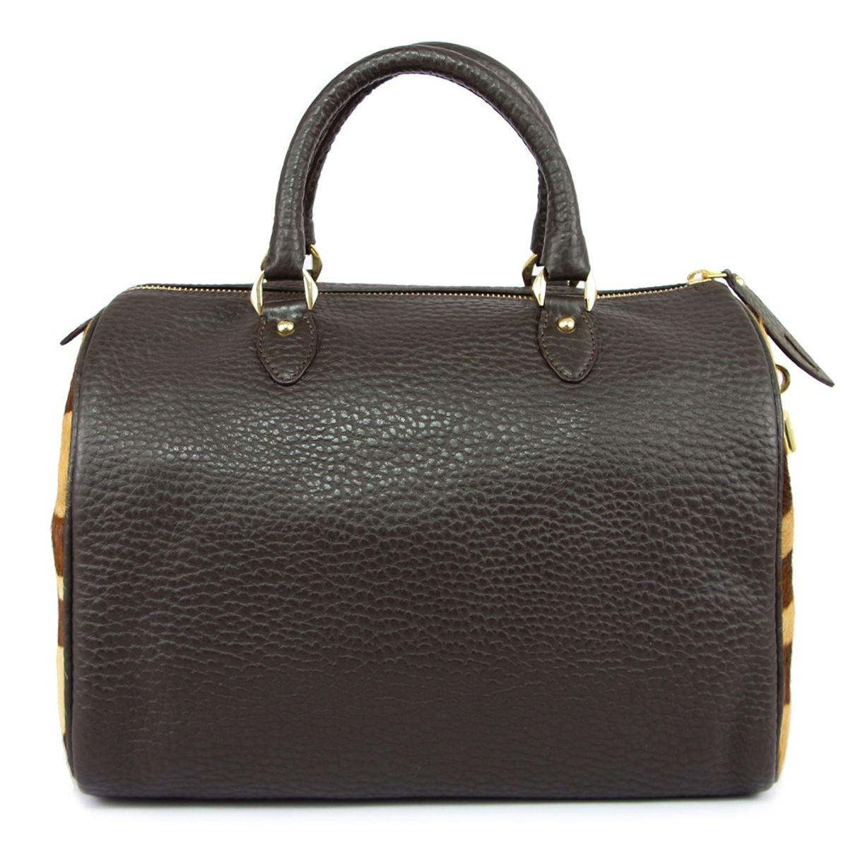 2a20ae1289 Da Milano Women Lb-4163 Brown Handbag