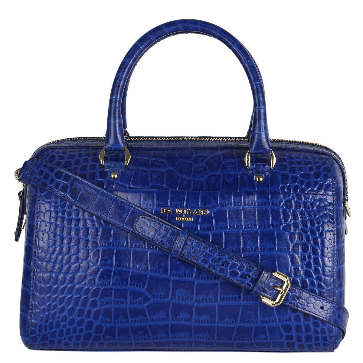 Da Milano Lb-4214 Royal Blue Duffle Bag  369ed143f370
