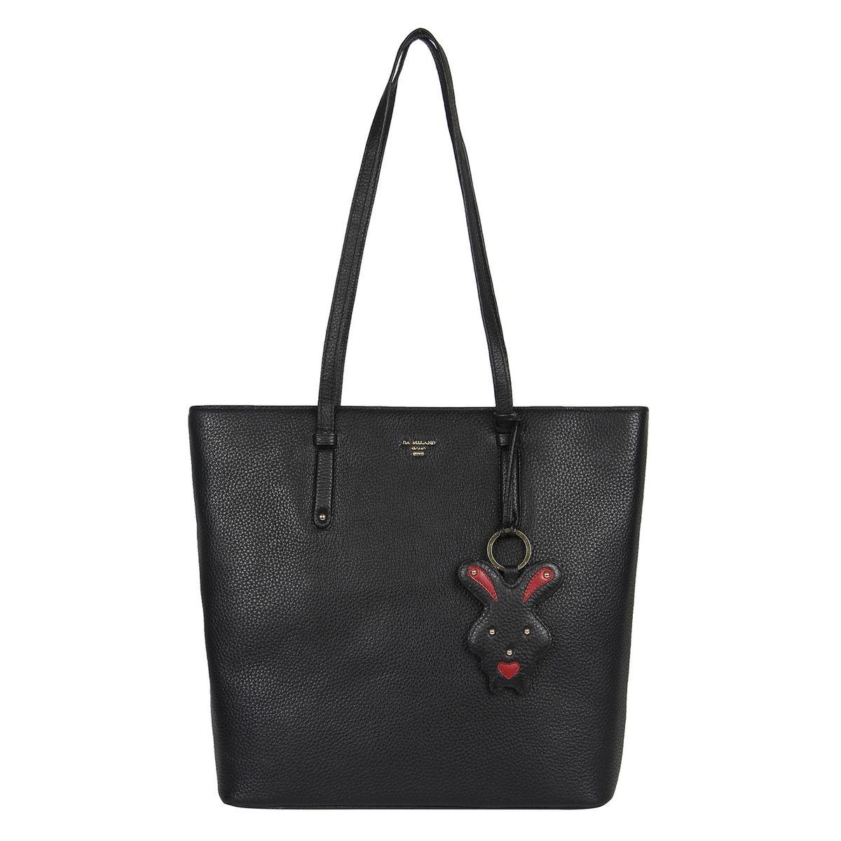 Da Milano Black Shopper Bag Lb 4215blackwax