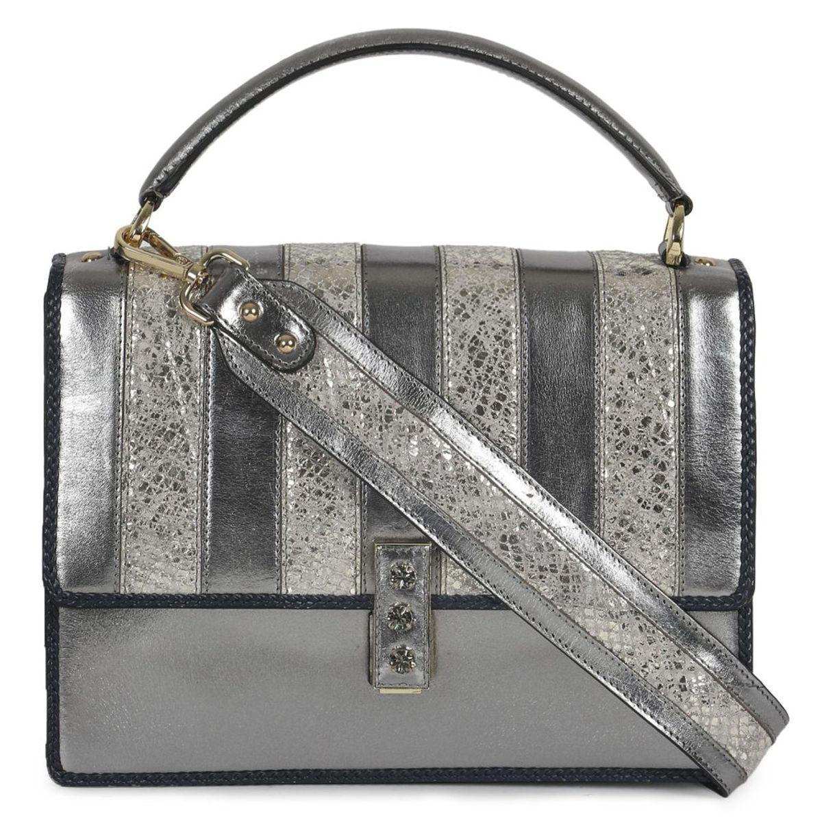 c4e364af966 Da Milano Silvergold Sling Bag