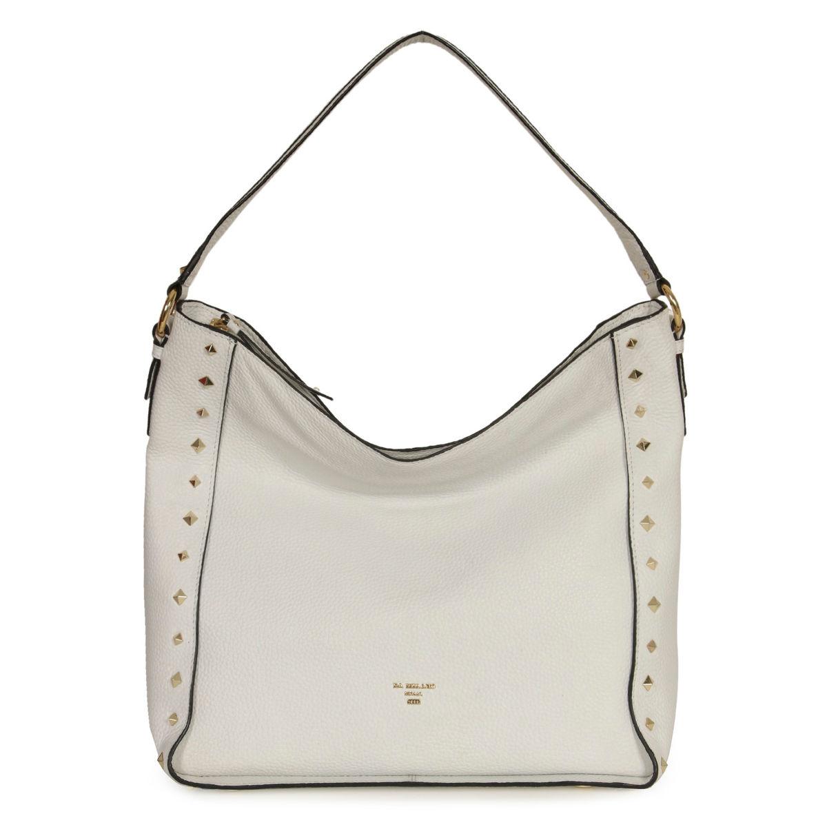 59873acf89 ... Da Milano White Long Handle Bag · zoom ...