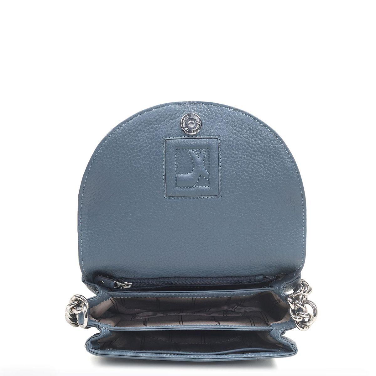 8f4027e431 zoom Da Milano Grey Sling Bag. 1  2  3