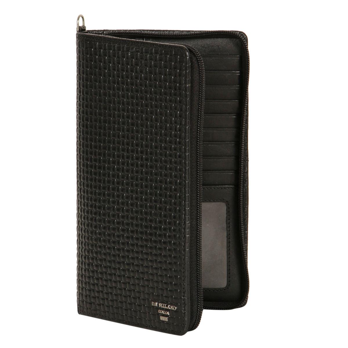 Da Milano Black Passport Case Pc 0816blackmat