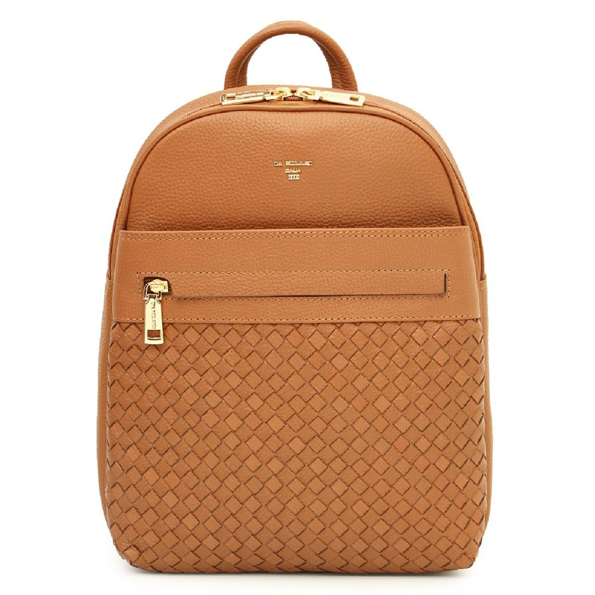 zoom Da Milano Cognac BackPack 936acd7cc9074