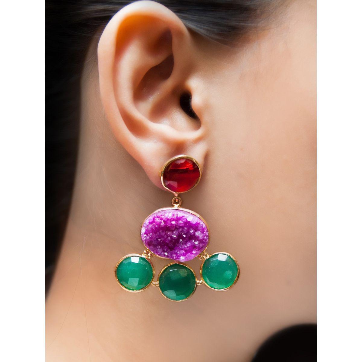 Heliospheric Wave earrings