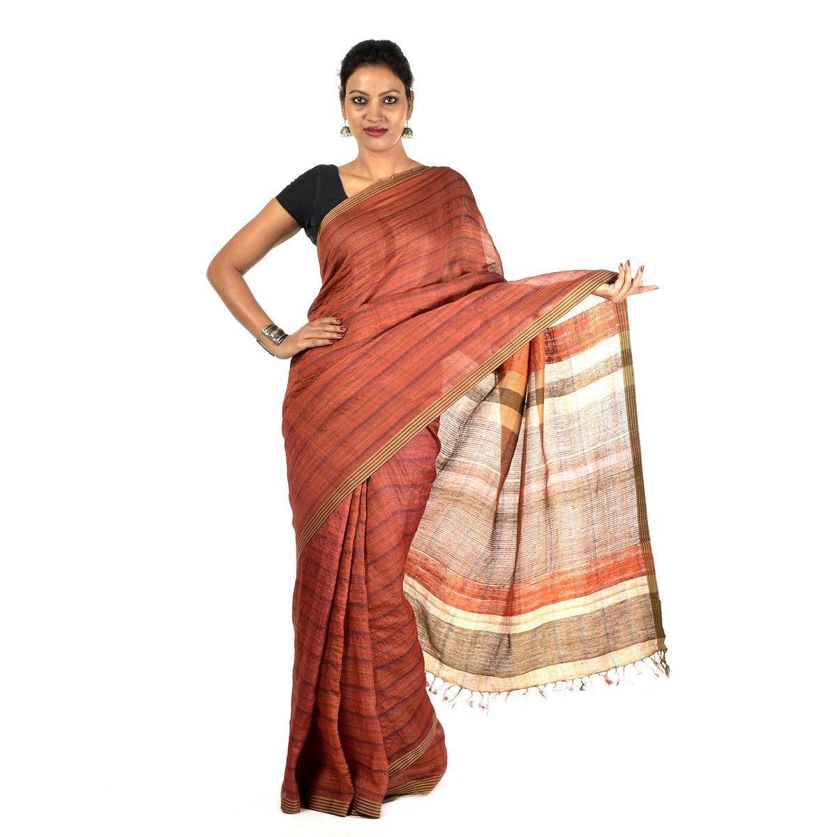 Girija Tussar Silk Saree