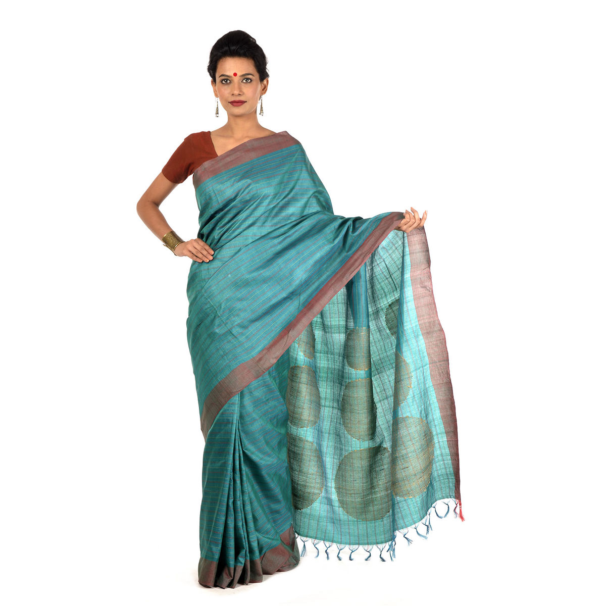 Balin Tussar Silk Saree