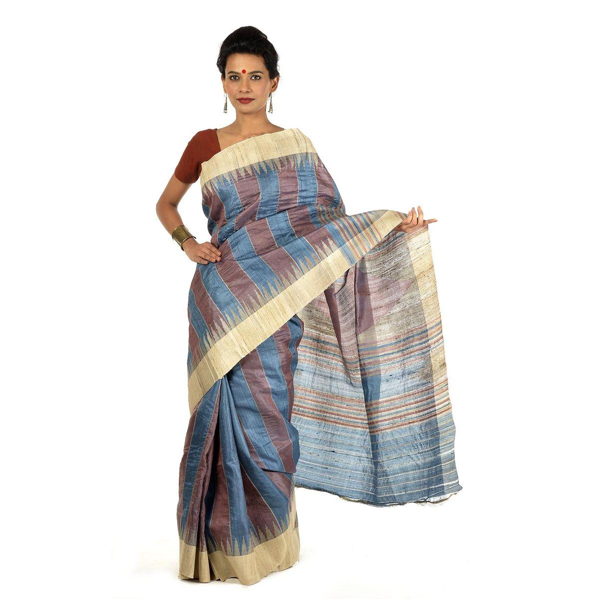 Nailya Tussar Silk Saree
