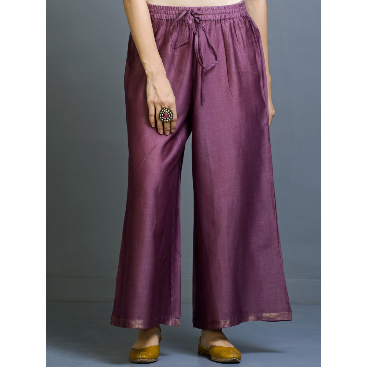 Khabazi Wide Bottom Trousers